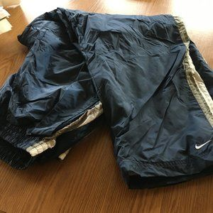 XXL Nike workout pants zip at sides